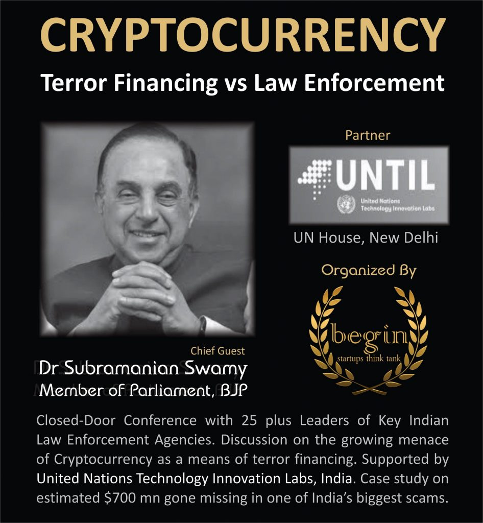 subramanian swamy to join cryptocurrency conference
