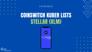 coinswitch lists stellar lumens - XLM